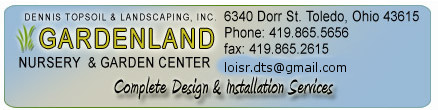 Gardenland,landscape accessories,Toledo,Ohio,southeast Michigan,llandscaping pictures